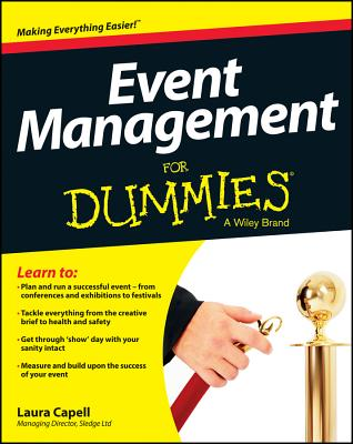 Event Management for Dummies By Capell, Laura